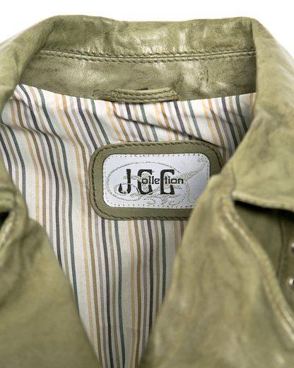 JCC Lederjacke leicht tailliert 330700