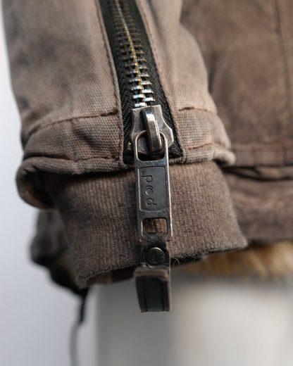 JCC Lang-Jacke mit abnehmbarer Kapuze Sancha