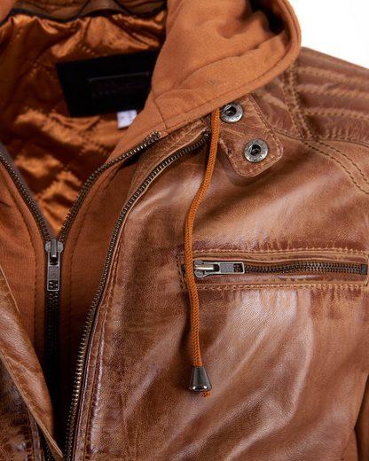 JCC Lederjacke mit zwei Brusttaschen 993
