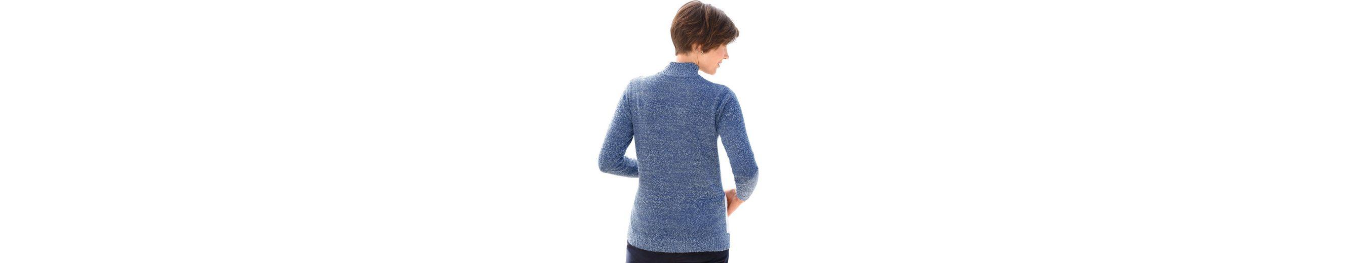 Classic Basics Pullover in flauschiger Bouclé-Qualität Billig Verkauf Limitierter Auflage Billig Footlocker Rabatt Original Yj3edJ