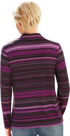 Collection L. Poloshirt im lässigen Streifenmuster