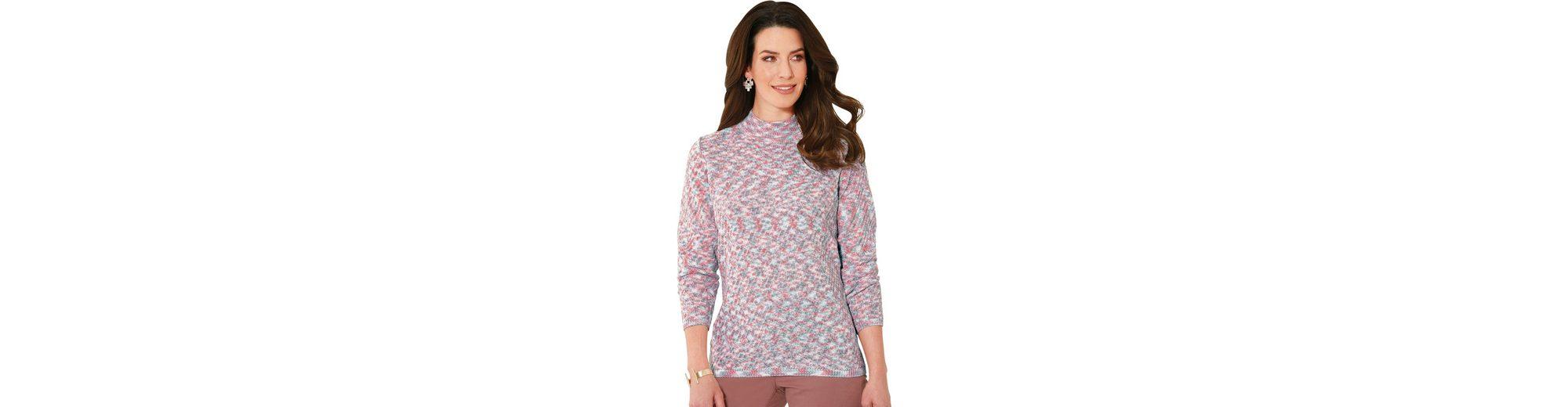 Classic Basics Pullover aus effektvollem Melangegarn Billig Verkaufen Hochwertige Outlet-Store Finden Große Zum Verkauf Billige Sast doXzN
