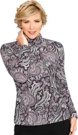 Classic Shirt In Combining Strong Paisley Pattern