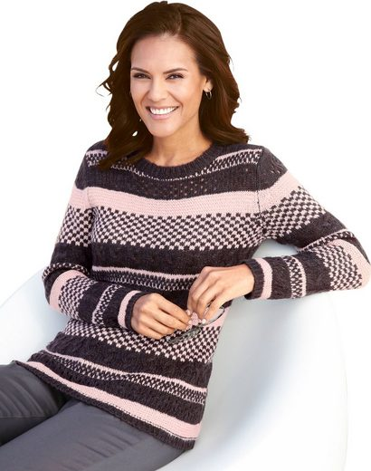 Collection L. Pullover im tollen Mustermix