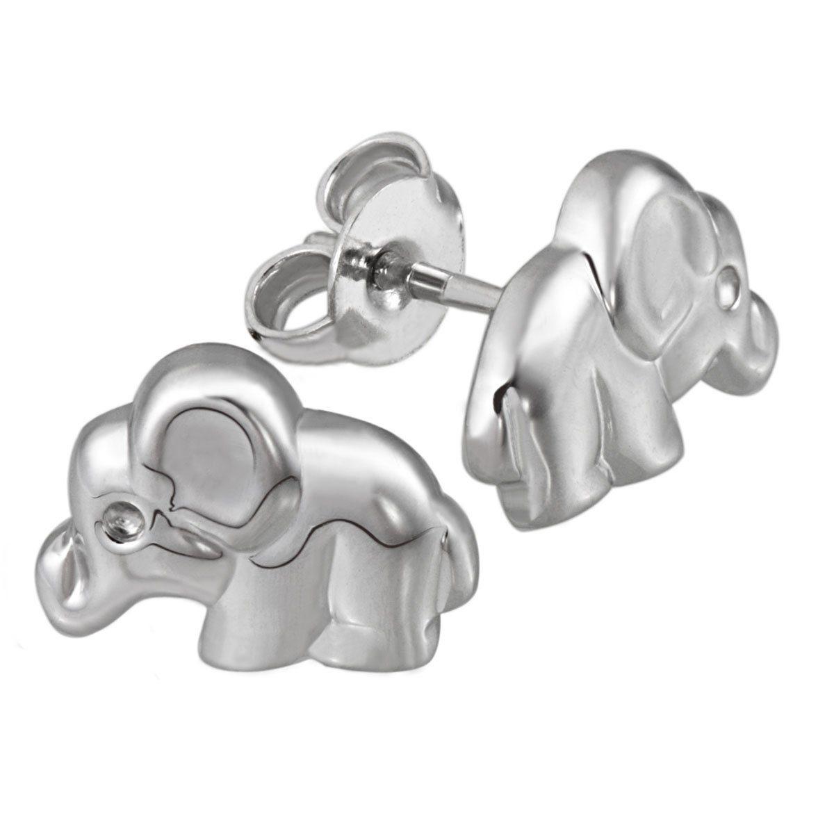 Averdin Paar Ohrstecker Silber 925/- Elefant
