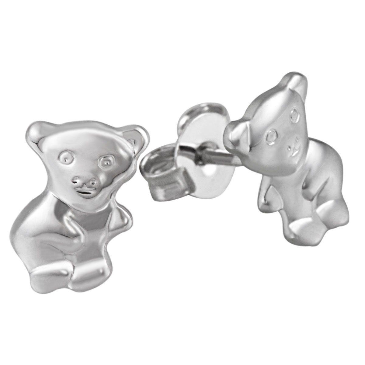 goldmaid Paar Ohrstecker Silber 925/- Bärchen