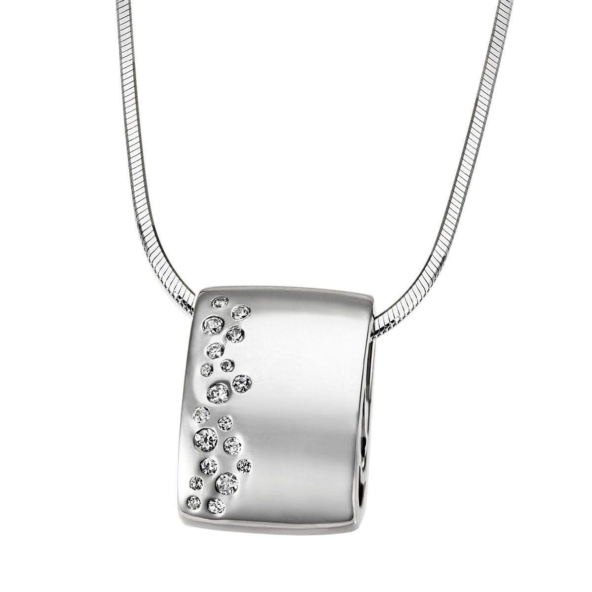 goldmaid Collier 925/- Sterlingsilber 19 Zirkonia