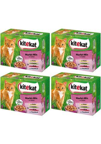 KITEKAT Rinkinys: šlapias katės maistas »Markt...