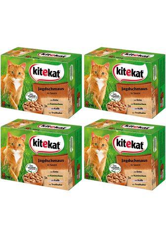 KITEKAT Rinkinys: šlapias katės maistas »Jagds...