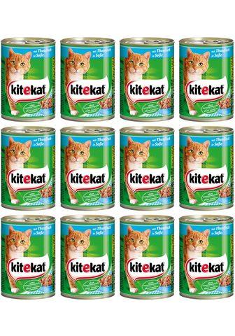 KITEKAT Rinkinys: šlapias katės maistas »Rind ...