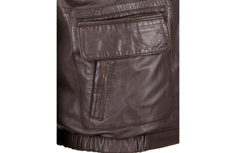 Wahl Geschäft JCC Lederjacke mit verschließbaren Brusttaschen 48033 Freies Verschiffen Finish Pi5y7oP