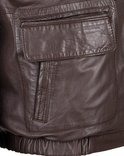 JCC Lederjacke mit verschließbaren Brusttaschen 48033