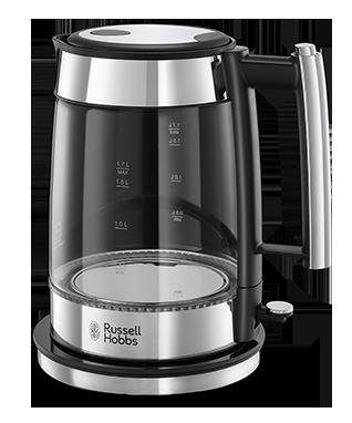 Russell Hobbs Wasserkocher Elegance 23830-70, 1,7 Liter, 2200 Watt, Edelstahl poliert