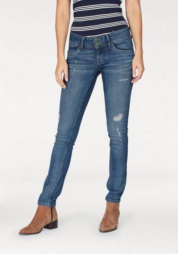 Pepe Jeans Slim-fit-Jeans VERA ECO, nachhalting produziert
