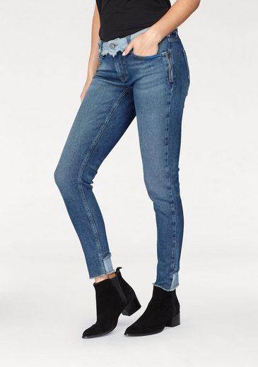 Jeans Bleu Jeans Skinny-fit Chloe, Im Look Modischen Des Années 90