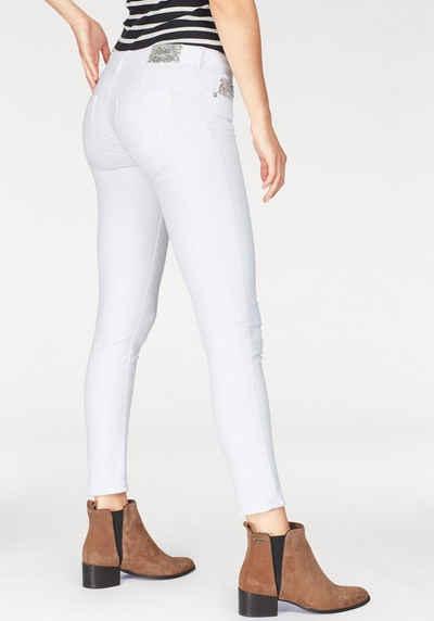 High Fashion Top Marken neueste Kollektion Weiße Destroyed Jeans online kaufen | OTTO