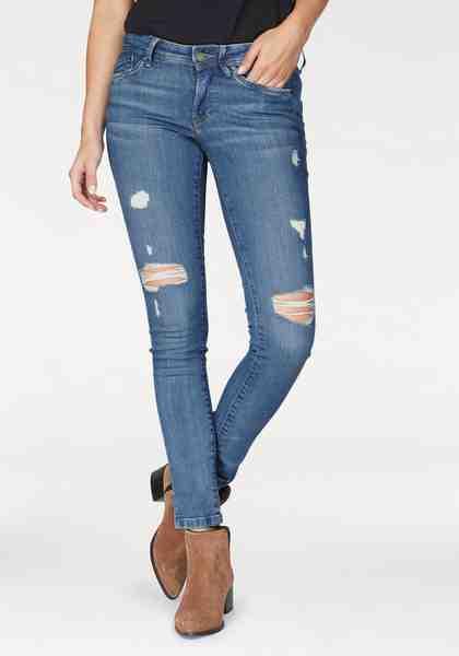 Pepe Jeans Skinny-fit-Jeans »PIXIE ECO«, nachhaltig produziert