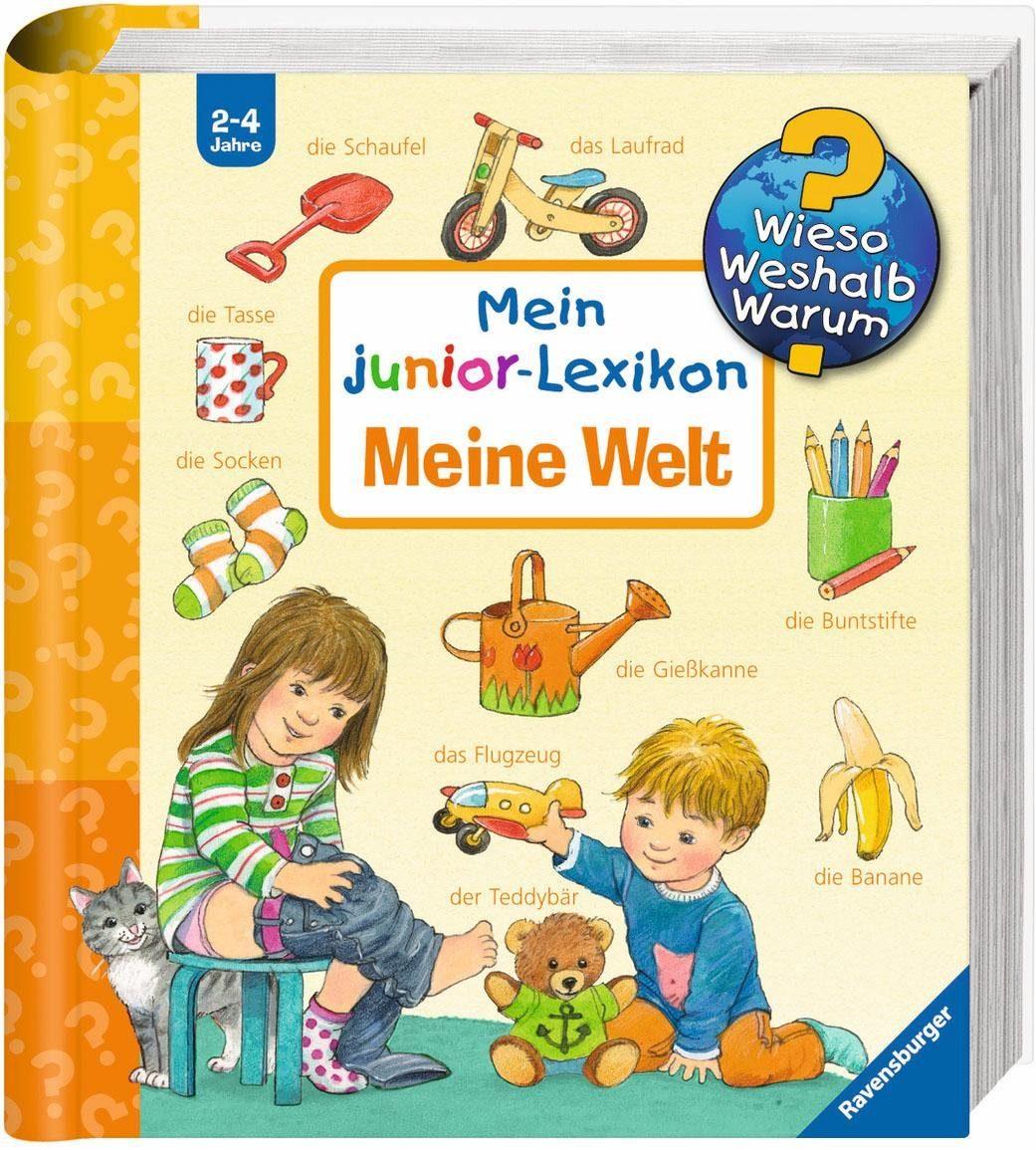 Ravensburger Kinderbuch, »Mein junior-Lexikon: Meine Welt / Wieso? Weshalb? Warum?«