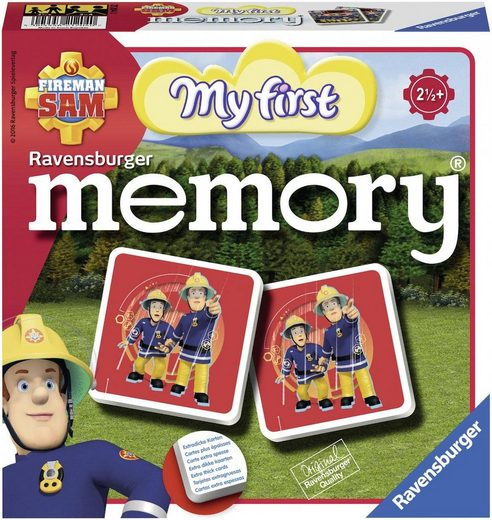 Ravensburger Spiel, »Fireman Sam: My first memory®«, Made in Europe
