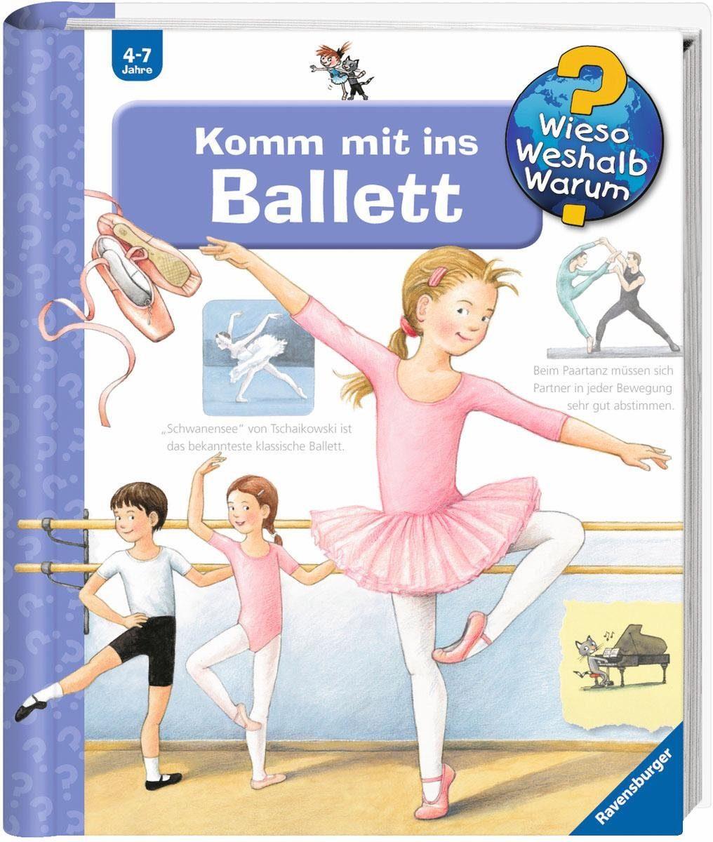 Ravensburger Kinderbuch, »Komm mit ins Ballett / Wieso? Weshalb? Warum?«
