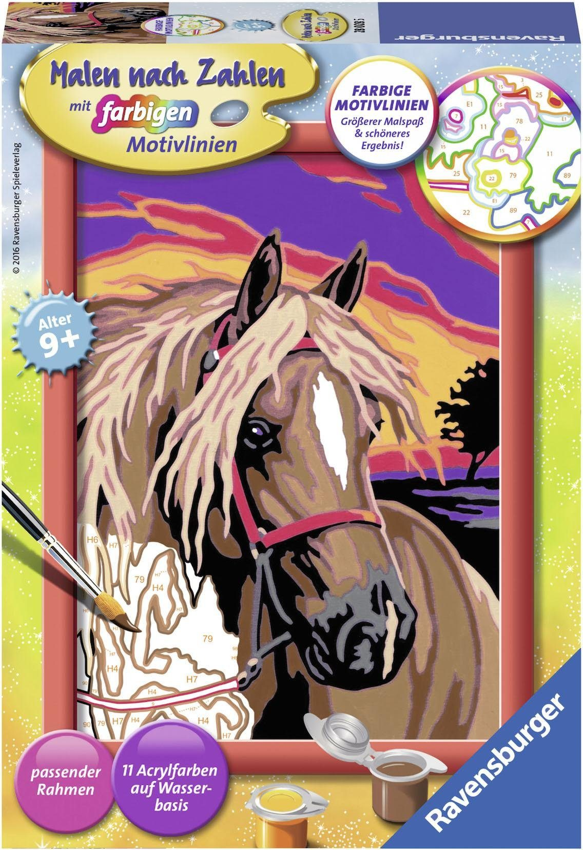 Ravensburger Malen nach Zahlen, »Pferdetraum«