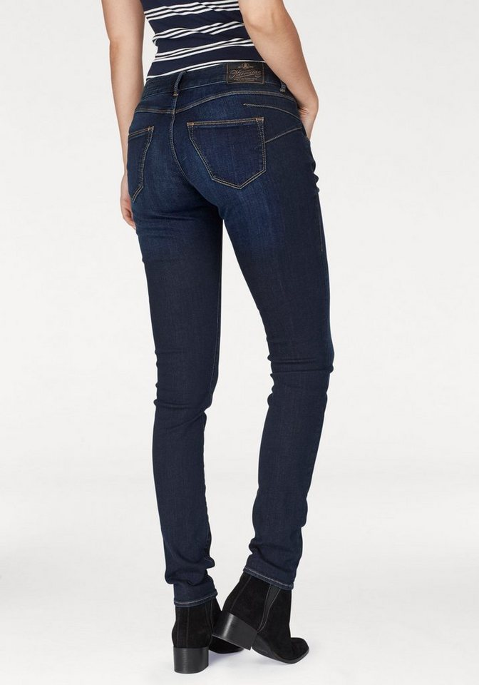 Herrlicher Slim-fit-Jeans »BRITT SLIM« Low Waist mit Push-Up Effekt
