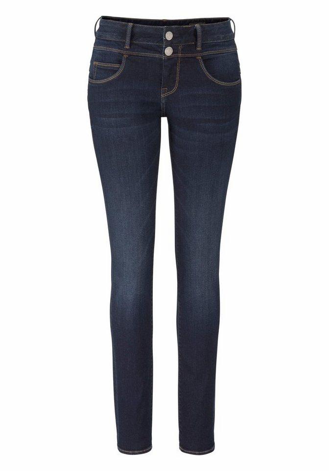 Herrlicher Slim-fit-Jeans »BRITT SLIM« Low Waist mit Push-Up Effekt