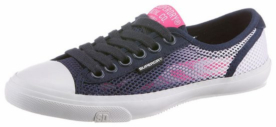 Superdry Sneaker, in Netz-Optik