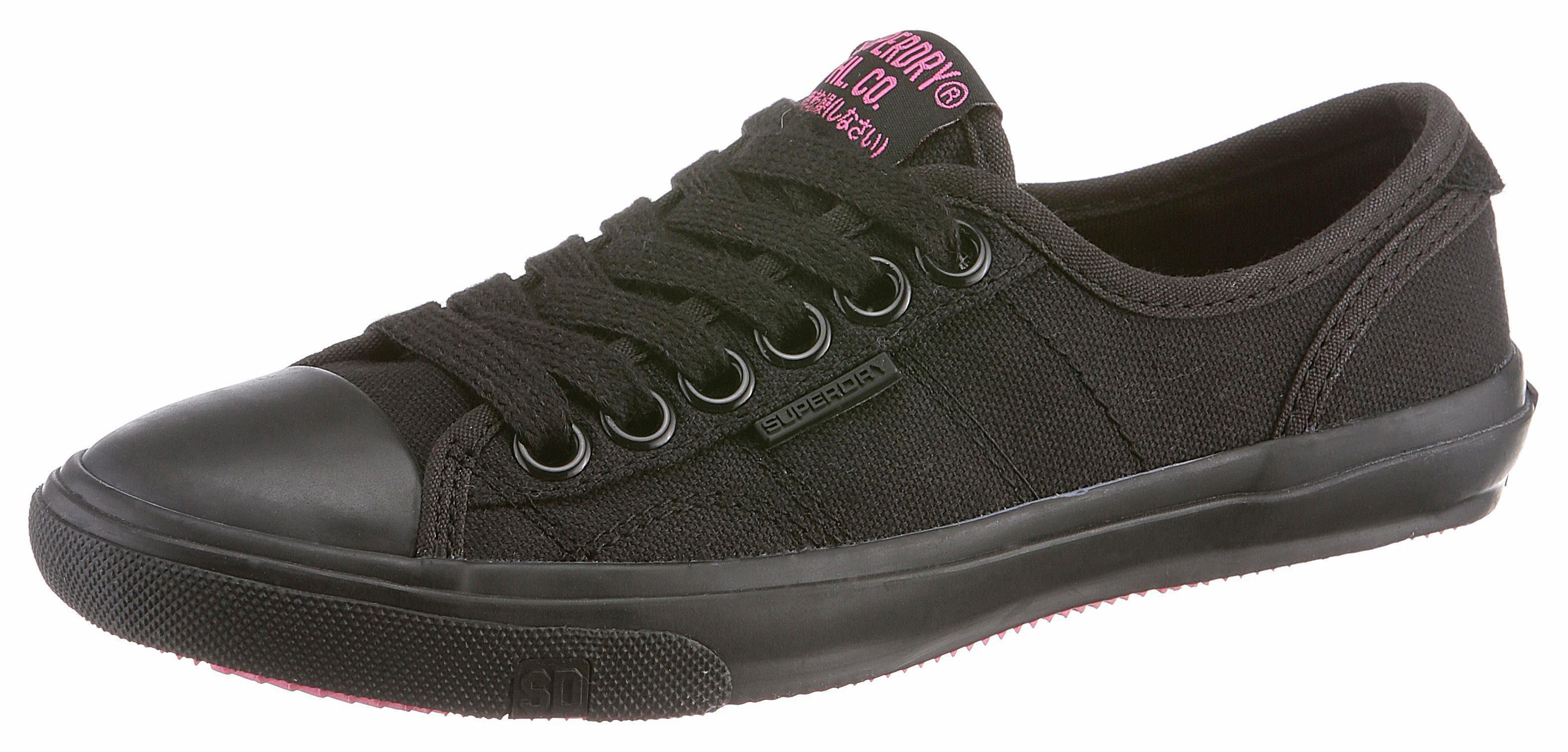 Superdry Sneaker, im Basic-Look, rot, koralle