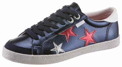 Superdry Sneaker, im Basic-Look, blau, 37 37