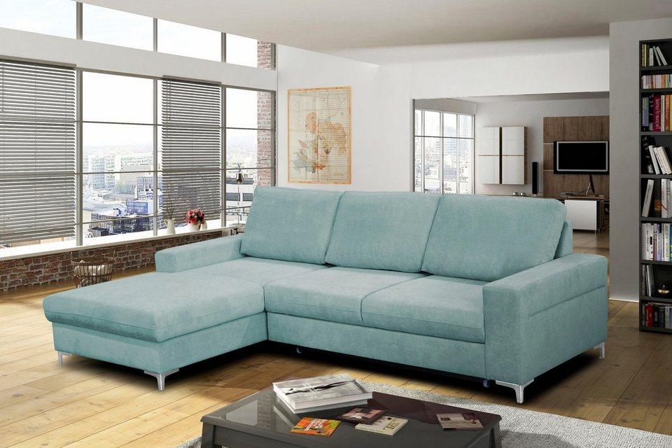 wersal polsterecke mit bettfunktion online kaufen otto. Black Bedroom Furniture Sets. Home Design Ideas