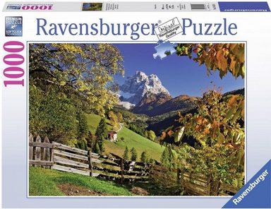 Ravensburger Puzzle »Monte Pelmo, Venetien, Italien«, 1000 Teilig, Softclick Technology