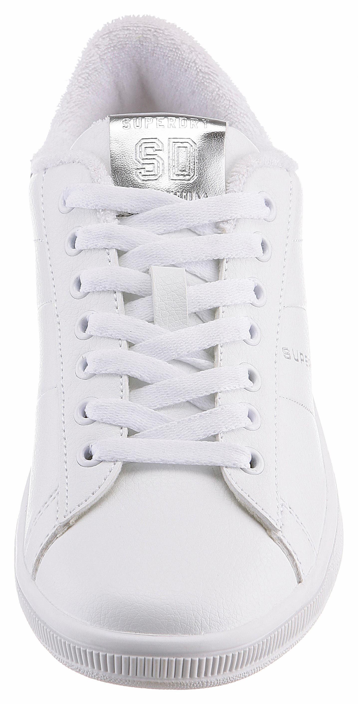 Superdry Sneaker, mit Details in Metallic-Optik  weiß