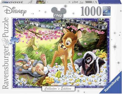 Ravensburger Puzzle »Disney Bambi«, 1000 Puzzleteile, Made in Germany, FSC® - schützt Wald - weltweit