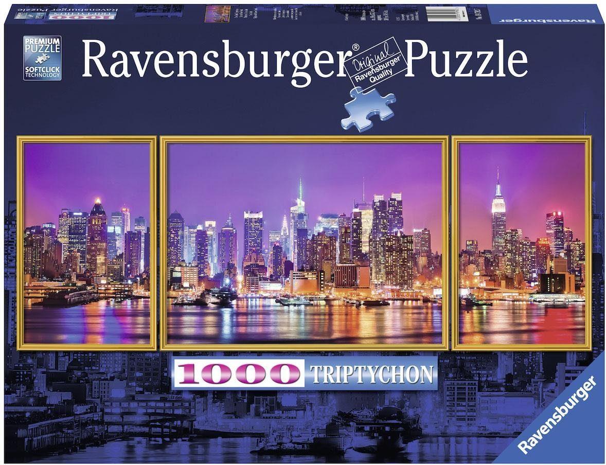 Ravensburger Triptychon Puzzle, 1000 Teile, »New York«