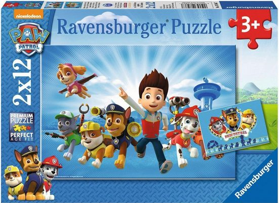 Ravensburger Puzzle »Ryder und die Paw Patrol«, 24 Teilig