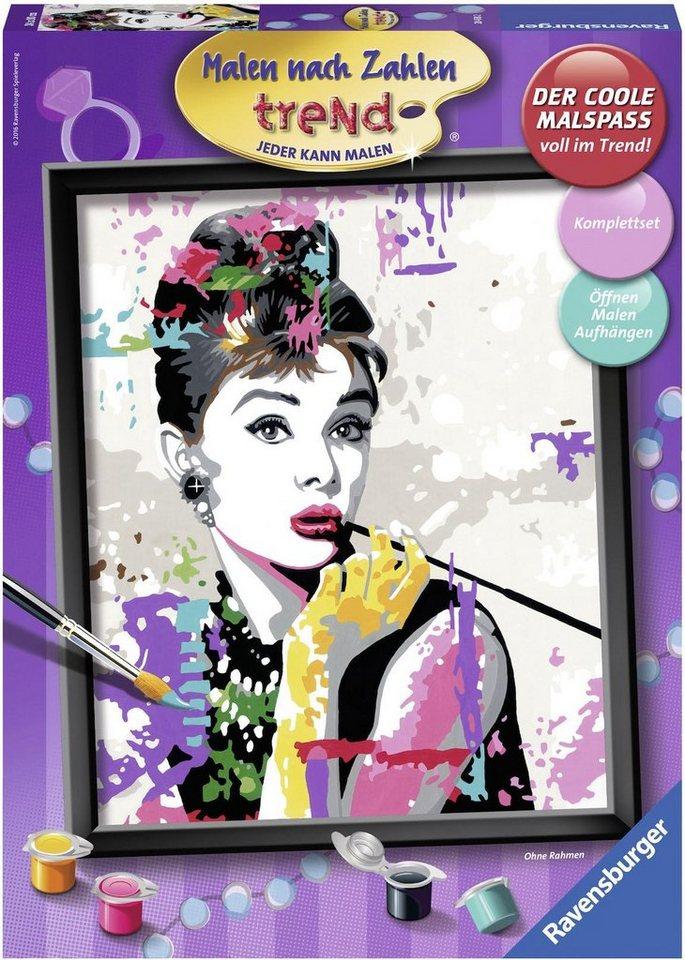 Ravensburger Malen nach Zahlen, »Audrey Hepburn, trend« online ...