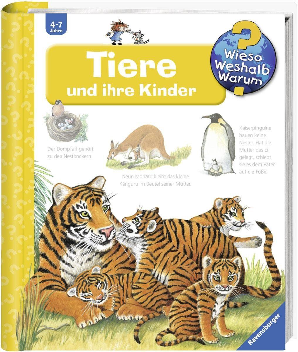Ravensburger Kinderbuch, »Tiere und ihre Kinder / Wieso? Weshalb? Warum?«