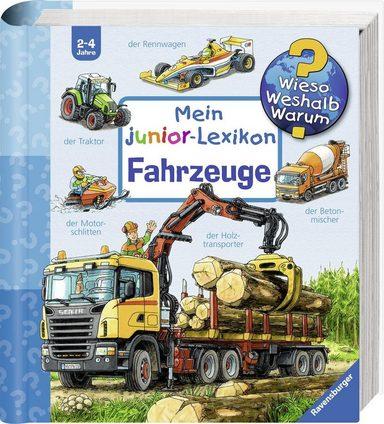 Ravensburger Buch »Mein junior-Lexikon: Fahrzeuge - Wieso? Weshalb? Warum?«