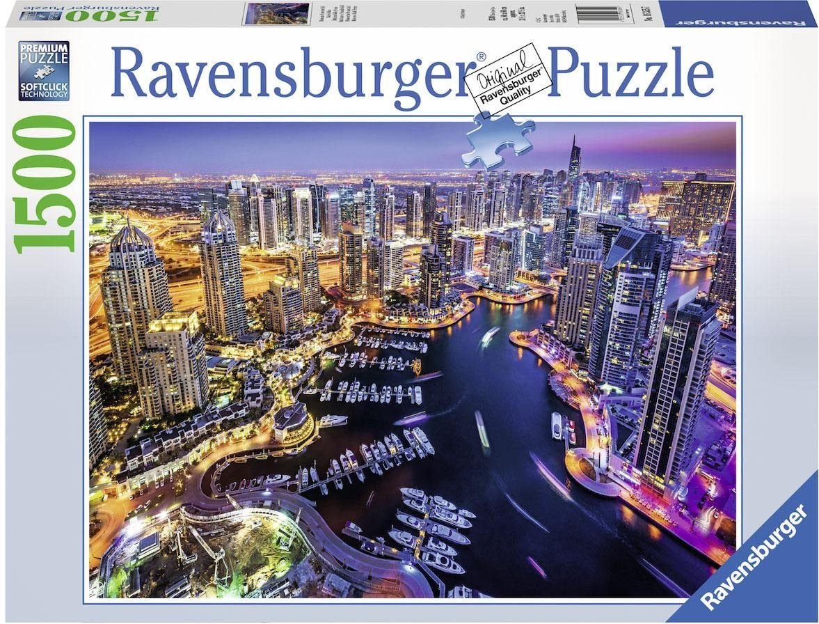 Ravensburger Puzzle, 1500 Teile, »Dubai am Persischen Golf«