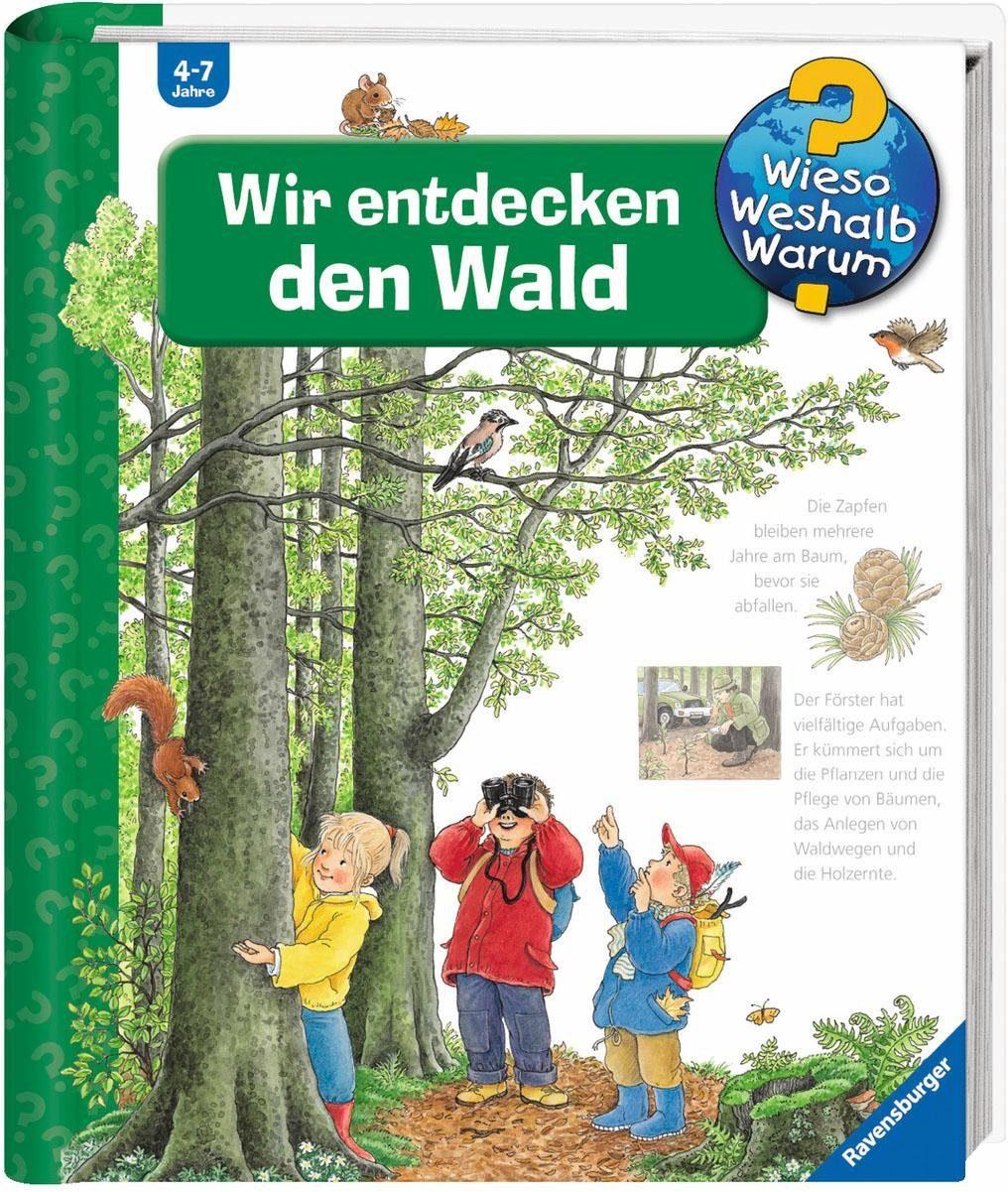 Ravensburger Kinderbuch, »Wir entdecken den Wald / Wieso? Weshalb? Warum?«