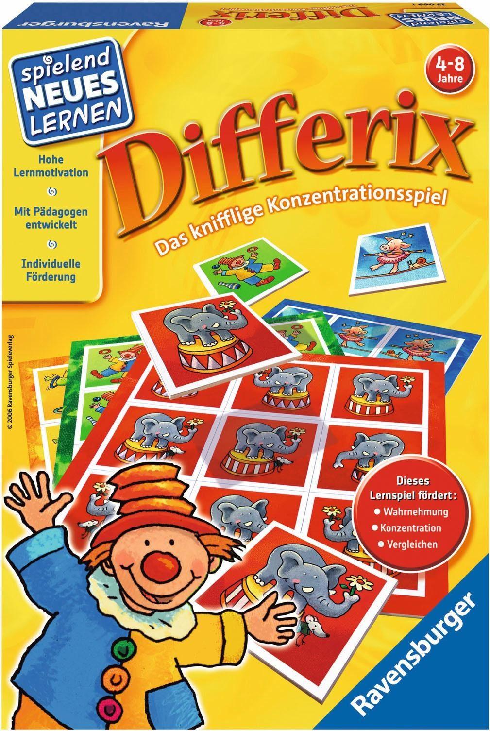 Ravensburger Lernspiel, »Differix«