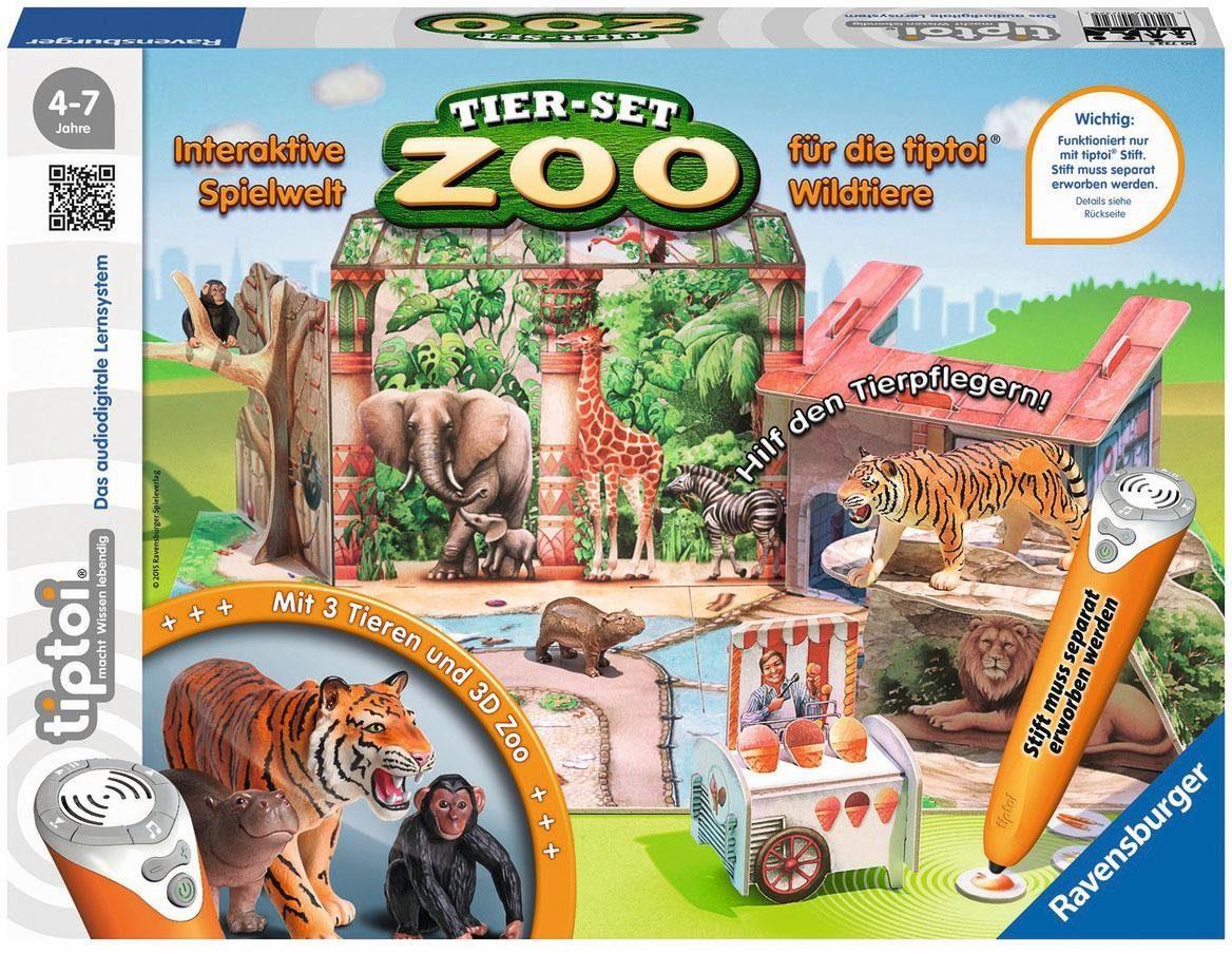 Ravensburger Spielset, »tiptoi® Tier Set Zoo«
