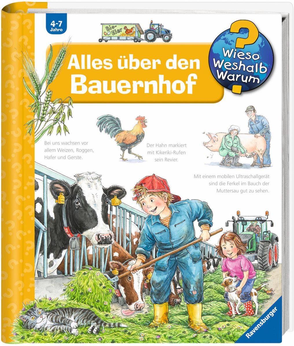 Ravensburger Kinderbuch, »Alles über den Bauernhof / Wieso? Weshalb? Warum?«