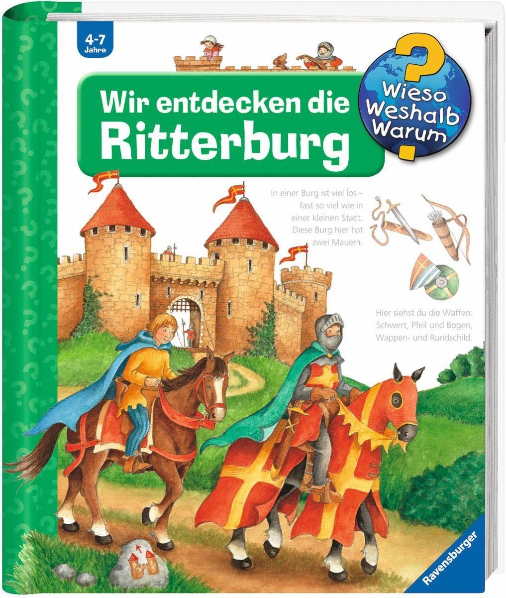 Ravensburger Kinderbuch, »Wir entdecken die Ritterburg / Wieso? Weshalb? Warum?«