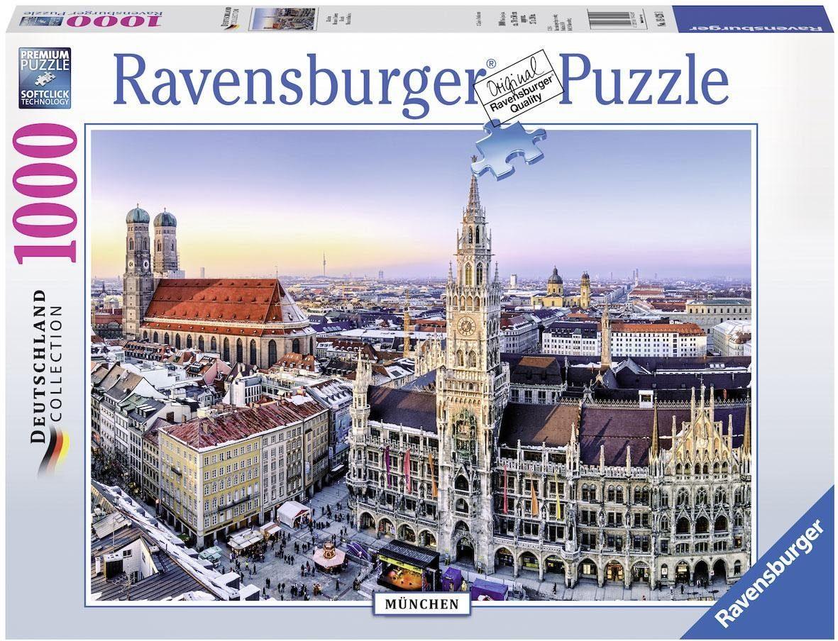 Ravensburger Puzzle, 1000 Teile, »München«