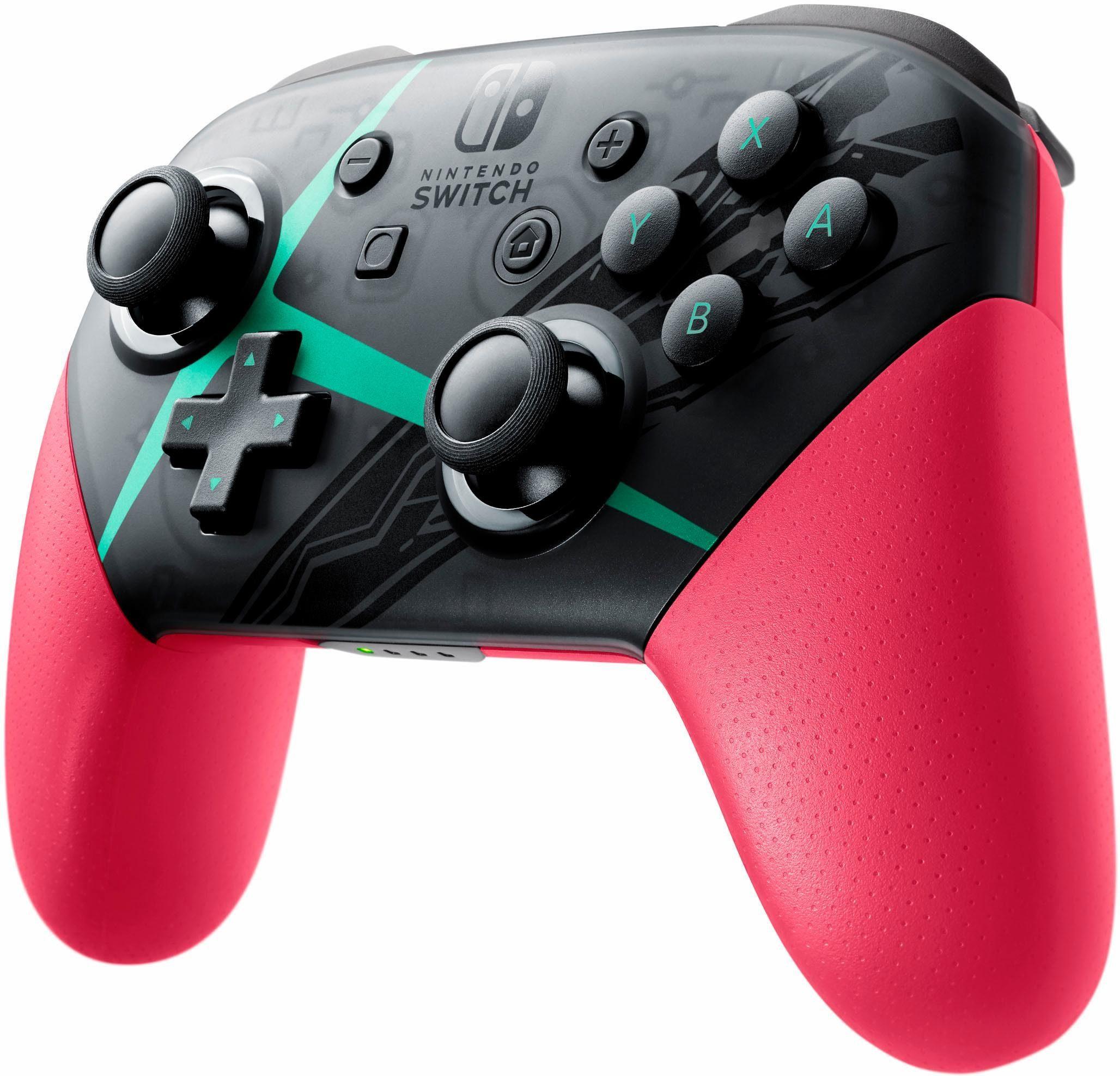 Nintendo Switch Pro Controller Xenoblade Chronicles 2-Edition