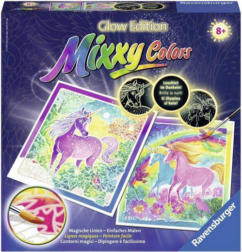 Ravensburger Malvorlage »Mixxy Colors Glow Traumhafte Einhörner«