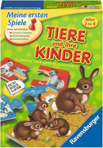Ravensburger Spiel, »Tiere und ihre Kinder«, Made in Europe, FSC® - schützt Wald - weltweit