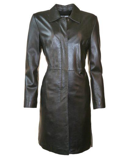 Jcc Leather Coat Noble & Classic Look